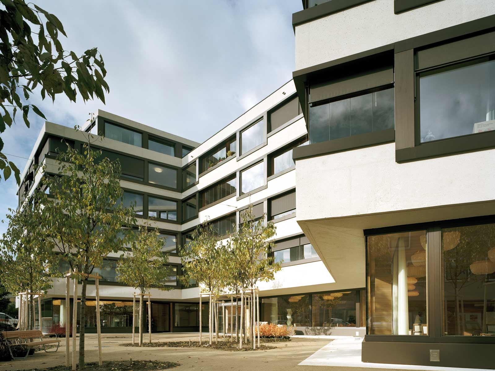 Best Architects Architektur Award Miller Maranta Miller Maranta Seniorenresidenz