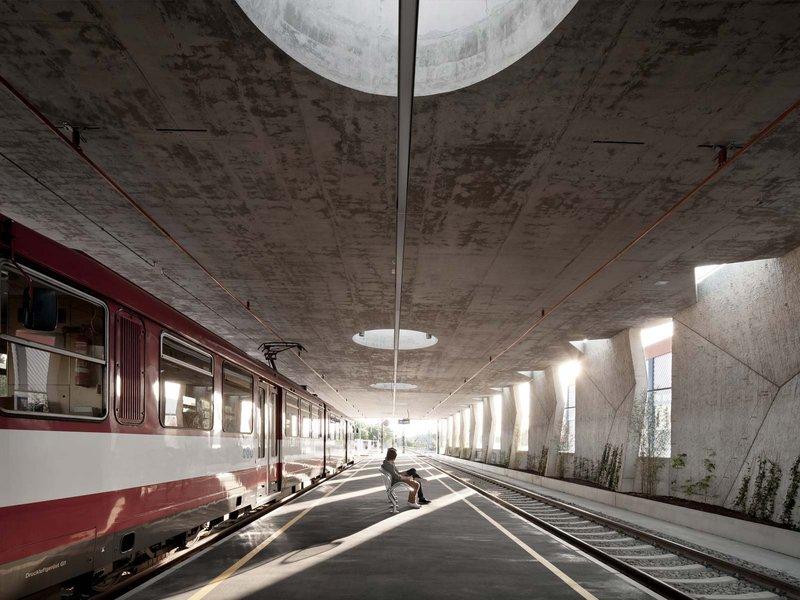 udo heinrich architekten: Lokalbahnhof Lamprechtshausen - best architects 14