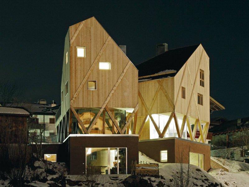 MODUS architects ATTIA-SCAGNOL: Künstlerhaus mit Atelier - best architects 14