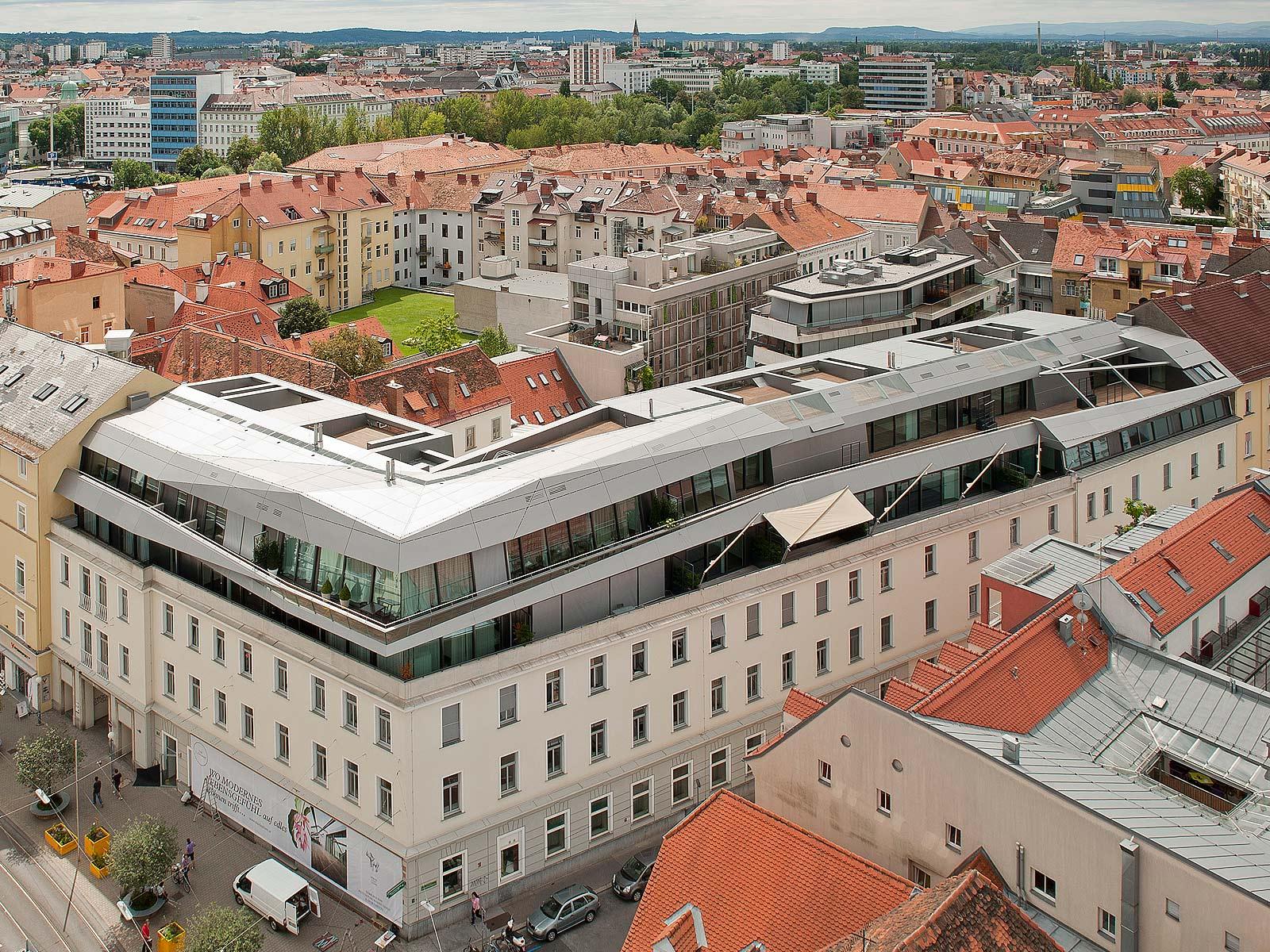 Best architects architektur award architekten domenig for Studium zum architekten