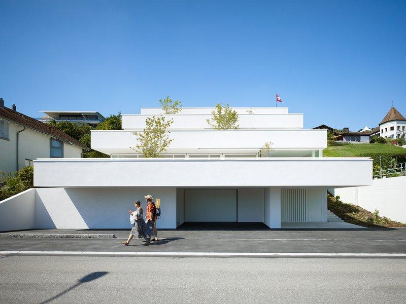 Best architects architektur award marques architekten three stepped apartments - Best architectes ...