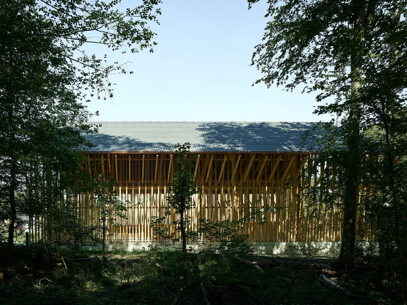 Clou Architekten: Dübendorf firewood depot - best architects 20