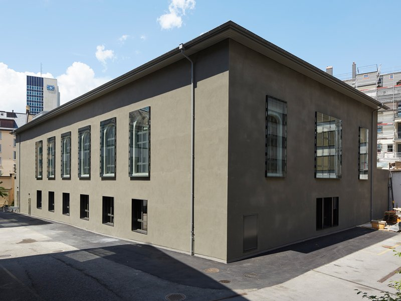 oxid Architektur (ehemals burkhalter sumi architekten): Stadthalle - best architects 21