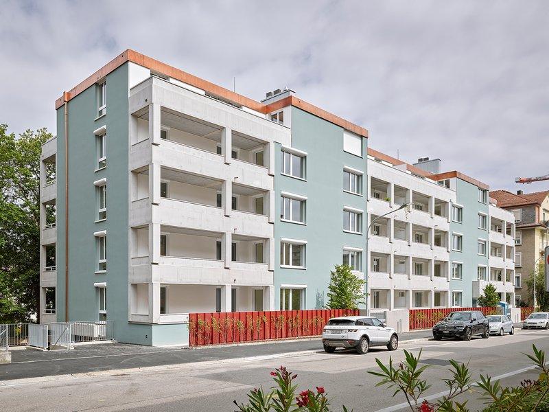Edelaar Mosayebi Inderbitzin Architekten: Wohnhaus Freihofstrasse - best architects 21