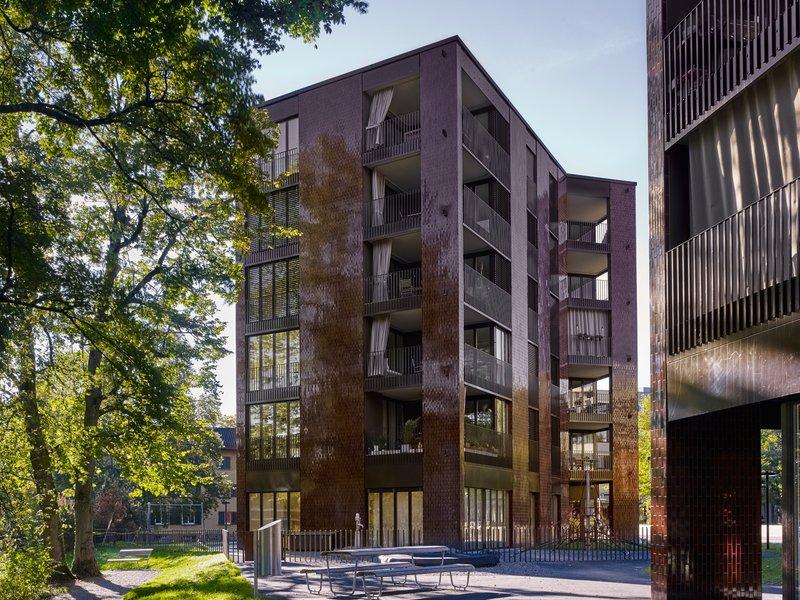 BS+EMI Architektenpartner: Wohnüberbauung Am Katzenbach IV/V - best architects 21 in gold