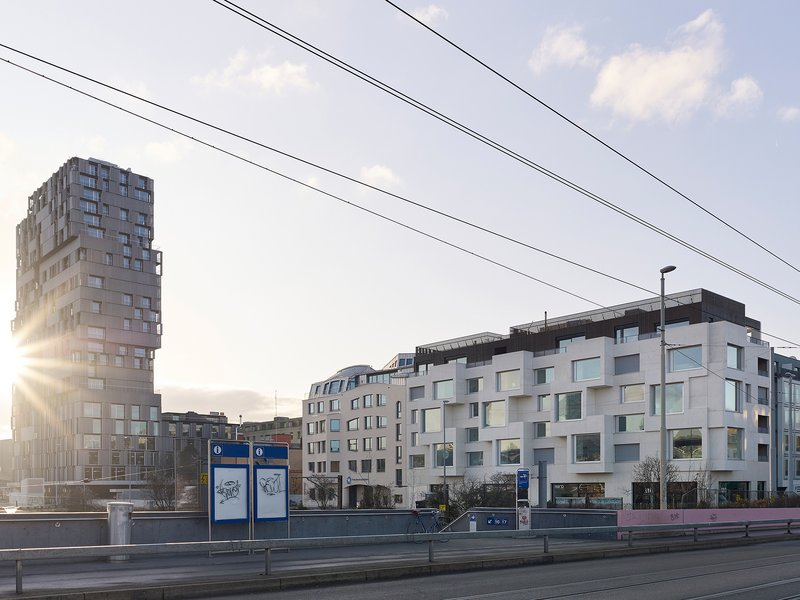 Luca Selva Architekten: Neubau Meret Oppenheim-Strasse - best architects 21