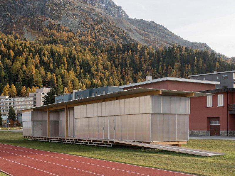 Krähenbühl Architekten Studio / Ingenieurbüro Walter Bieler: Höhentrainings- und Wettkampfzentrum St. Moritz  - best architects 21