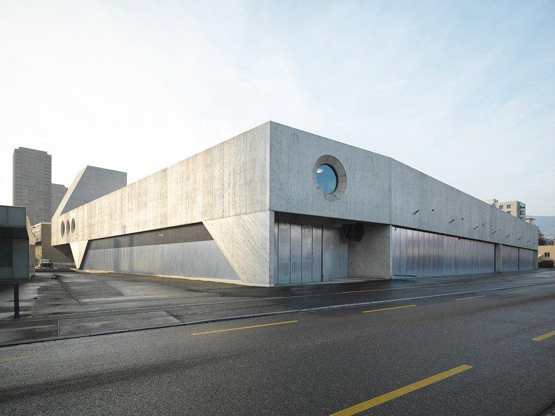 pool Architekten: VBZ-Busgarage / ERZ-Werkhof - best architects 22 in Gold